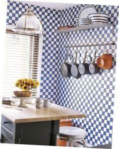 Bronzed Wall #Kitchen #Storage Racks Border #Backsplash For Kitchen Storage Racks Kitchen Racks, Kitchen Storage, Storage Rack, Kitchen Backsplash, Decorating, Wall, Kitchen Shelves, Kitchen Organization, Decoration