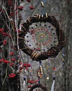 Lunar Craft, Sun Catchers, Beautiful Dream Catchers, Joker Pics, Nature Crafts, Witchcraft, Harry Potter, Wreaths, Money