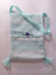 Morral Dulce aguamarina. #Morralitos #Shoulder bag Shoulder bag