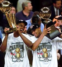 First NBA Championship I ever witness! Spurs 1999!