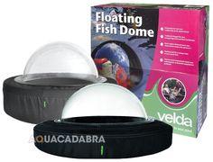 VELDA FLOATING FISH SPHERE DOME GARDEN POND WATER KOI WINDOW VIEW HEALTH CARE #Velda