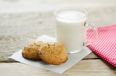 Check out cup of milk with oatmeal cookies by Mellisandra on Creative Market