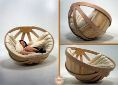 """Is this the modern equivalent of a papasan chair? Designed to """"create a safe, comfortable and relaxing environment in which the user can dissipate the overstimulation of their senses"""". Looking for furniture inspiration? Head over to our """"Furniture Ideas"""" album on our site at http://theownerbuildernetwork.co/ideas-for-your-rooms/furniture-gallery/furniture-ideas/ Would you like one in your home?"""