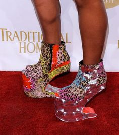 Some Crazy Shoes Spotted on The Red-Carpet.  had to spice things up on my  shoe board. bf7d27a0fcc1