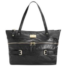 Marc Fisher NWT $88 Simple Mix Satchel Black