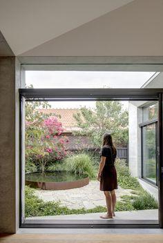 Back Gardens, Small Gardens, Outdoor Spaces, Outdoor Living, Landscape Design, Garden Design, Australian Garden, Street House, Garden Planning