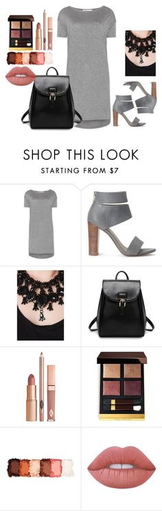 """""""Bez naslova #38"""" by emiiina ❤ liked on Polyvore featuring T By Alexander Wang, Splendid, Dolce Vita, Tom Ford, NYX and Lime Crime"""
