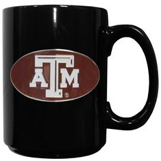 """Checkout our #LicensedGear products FREE SHIPPING + 10% OFF Coupon Code """"Official"""" Texas A & M Aggies Ceramic Coffee Mug - Officially licensed College product 14 ounce capacity Ceramic coffee mug Great gift for a true fan Metal Texas A & M Aggies with enameled detail - Price: $29.00. Buy now at https://officiallylicensedgear.com/texas-a-m-aggies-ceramic-coffee-mug-cmg26"""