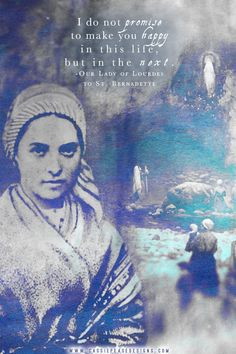 St. Bernadette Mobile Wallpaper