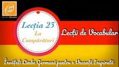 Lecția 23 - La Cumpărături - Lecții de Vocabular in Limba Germană - YouTube Chart, Youtube, Youtubers, Youtube Movies