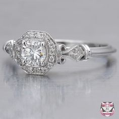 Art Deco Engagement Ring - LOVE THIS ONE!