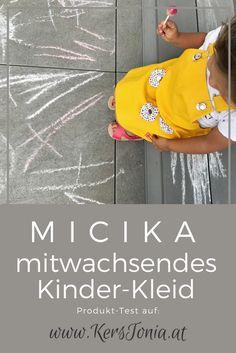 Produkt-Test: Micika - mitwachsendes Kinder-Kleid für Mädchen. Nachhaltige Kinder-Mode.