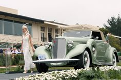 1935 Lincoln K LeBaron Convertible Coupe