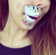 Check out this hilarious and amazing face paint art. #Disney #FacePainting #Art #Artwork