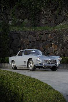 "1960 Maserati 3500 GT  I used to have one.  Crankshaft had nearly 4"" main bearings.  Ran like an ape, when it ran."