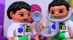 Lego Duplo Big City Hospital Saves Batman, Disney Princess   Toys Disney...