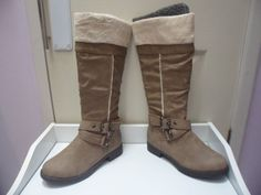 Womens Ladies Camel Faux Leather Low Block Heel Knee High Boots Size UK 4,8 New  Click On Link To Visit My Ebay Shop http://stores.ebay.co.uk/all-about-feet  Useful Info:  - Standard Size - Standard Fit - By Vintage - Camel In Colour - Heel Height: 1.3 Inches - Inner Side Zip Fastening - Synthetic Leather Upper - Textile Lining #boots #kneehighboots #kneeboots #camel #blockheel #lowheel #zip #buckle #winter #fauxfur #fauxleather #fashion #footwear #forsale #womens #ladies #ebay #ebayseller…