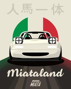 #mazda #mx5 #miata #vector #car #art #wacom #miataland #mmmmiata