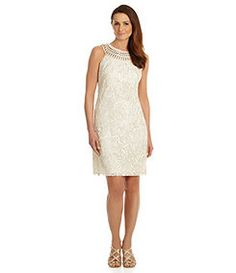 Jessica Howard Soutache Sheath Dress