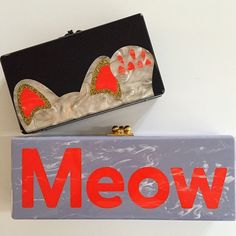 The Cat's Meow! A new crop of Edie Parker clutches to covet on Moda Operandi now!