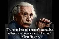 Merit and Importance= VALUE