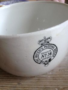 Early 1900s Crown Emblem Ironstone Bowl FleaingFrance Brocante Society