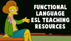 Functional Language ESL EFL Teaching Resources - On this page of Teach-This.com, you will find all our ESL teaching resources related to functional language. Each teaching resource is categorized according to the level and type of activity. To help students put the language structures into context, we have created a variety of resources that use dialogues and role-plays based on realistic situations.