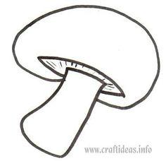 M for mushroom