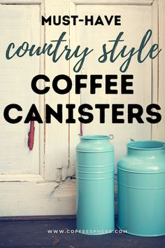 Do you have coffee beans or sugar spilling all over your cabinets because they are still in their original packaging? These canister sets will help solve your problem. Here are 7 that you can grab and get shipped to your doorstep.