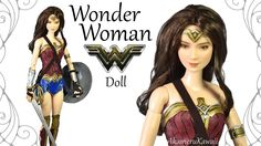 How to: Wonder Woman inspired Doll / Barbie Repaint - Tutorial Diy Ooak Doll, Ooak Dolls, Barbie Dolls, Doll Repaint Tutorial, Doll Tutorial, Resin Tutorial, Barbie Fairy, Doll Videos, Fairy Clothes