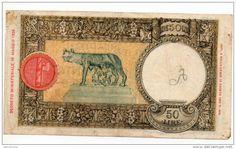 50 lire Lupa Capitolina 1942