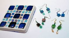 Hi friends! Today I have an easy mosaic project using supplies from the March Smart Art kit! I loved the tiny tiles in the kit so much I made some wire wrapped earrings too. Since I had leftover ti…
