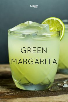 The Green Margarita: This twist on the classic Margarita recipe uses a delicious sugar snap pea puree.