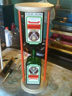 Jägermeister decorative sand timer!