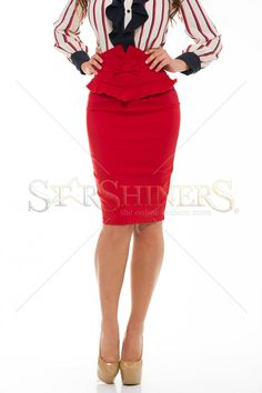 Artista Lordly Bow Red Skirt