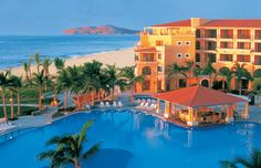 Follow these links to get more detailed information about  the following All-Inclusive resorts of Cabo San Lucas.        • Melia Cabo Real Resort •  • Dreams Los Cabos Resort •  • Dreams Los Cabos 2BR Presidential Suite •  • Royal Solaris Resort •  • Zöetry Casa del Mar •  • Riu Palace Cabo San Lucas •  • Barceló Los Cabos •  • Royal Solaris •