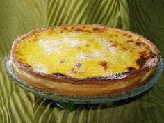 portuguese flavours: Portuguese Custard Tart - Pastel de Nata Tart