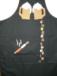 avental masculino churrasco molde - Pesquisa Google