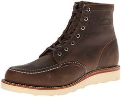 Original Chippewa Collection Men's 6 Inch Moc Toe Boot,Crazy Horse,11 E US Chippewa http://www.amazon.com/dp/B00BP45J92/ref=cm_sw_r_pi_dp_u3oIub1M39Q3M