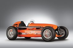 This beautiful 1950 Snowberger-Offy Indianapolis 500 Roadster was campaigned at the Indy 500 in both 1950 and...USAC circuit...1950 Pikes Peak Hillclimb...