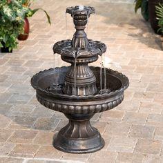 Charming Garden Classic 3 Tier Garden Fountain At The Foundary Nice Design