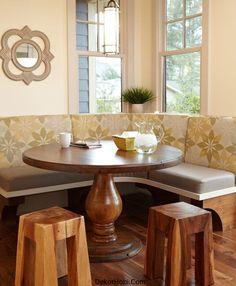 Kitchen Breakfast Nook Ideas | Her mutfak köşe mutfak masası kullanımı için uygun olmayabilir ...