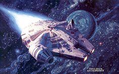 Millenium Falcon by G & T Hildebrandt