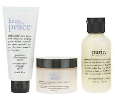 philosophy keep the peace skin soothing 3-piece starter kit