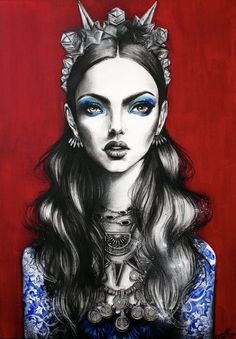 Art of realistic drawings and painting illustrations by pippa Illustration Mode, Portrait Illustration, Painting Illustrations, Spray Paint On Canvas, Fashion Sketches, Fashion Drawings, Art Inspo, Art Drawings, Realistic Drawings