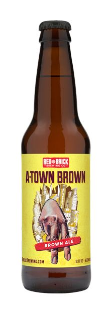 Red Brick A-Town Brown Ale - Available Aug-Oct
