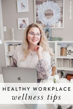 Healthy Workplace Wellness Tips   Wellness Tips for Employee Health   Looking for healthy habits on how to create a workplace that fosters wellness? Click for how to create an intentional workspace, staying active, adding plants, including a healthy lunch and more tips.   Workplace Health   Mental Health   Health and Wellness Coaching   Four Wellness Co. #workplacewellness #employeehealth #employeewellness #wellnesstips #healthyliving