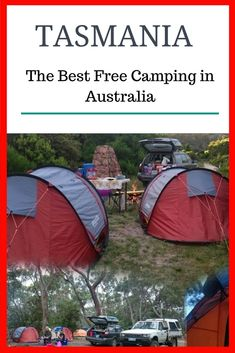 Free Camping Grounds in Tasmania. Find some of the best free camps in Australia.