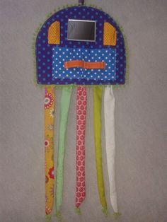Frisierkrake, ideal für Haarspangen, Haargummis und vieles mehr für eine kleine Prinzessin.