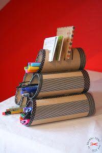 Ideas para reciclar cartón. No puedes perderte este recopilatorio donde se recogen un montón de ideas buenas para hacer con cartón reciclado. ¡Todo se merece un segundo uso!